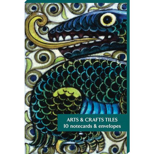 Fitzwilliam Museum Pack de 10 cartes de notes Arts and Craft Tiles