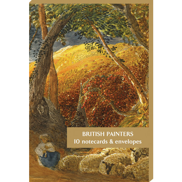 British Painters  10 Notecard Pack