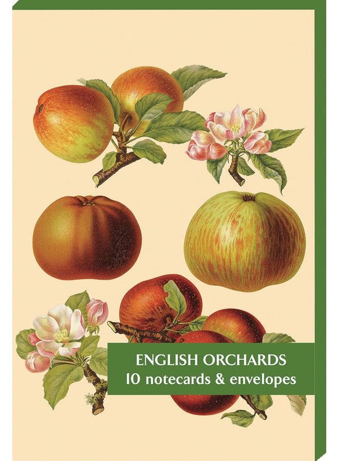 Englische Obstgärten 10 Notecard Pack
