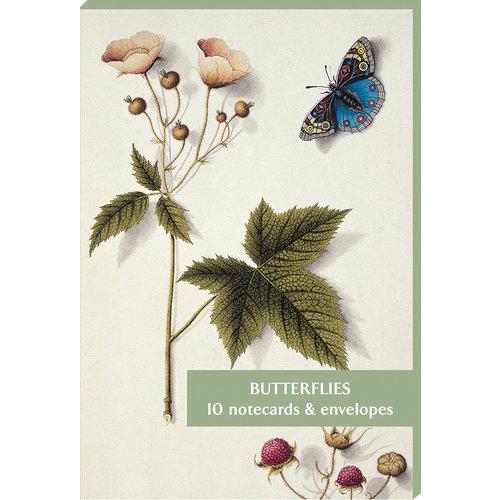 Fitzwilliam Museum Paquet de 10 cartes de correspondance Papillons