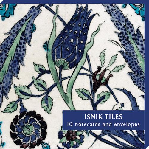 Fitzwilliam Museum Lot de 10 cartes de notes Iznik Tiles 08