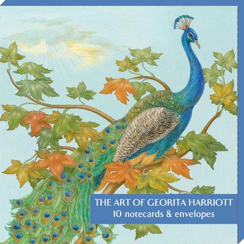 Fitzwilliam Museum Die Kunst von Georita Harriott 10 Notecard Pack