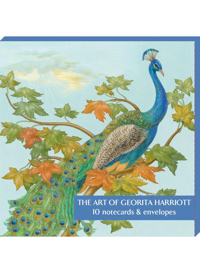 Die Kunst von Georita Harriott 10 Notecard Pack