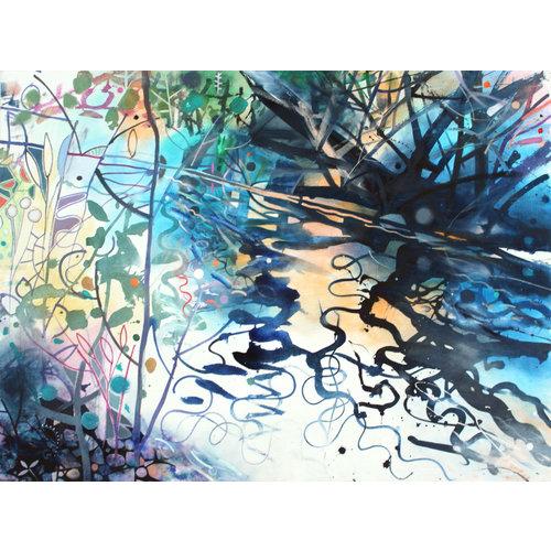 David Wiseman Water's Edge Glowing Light