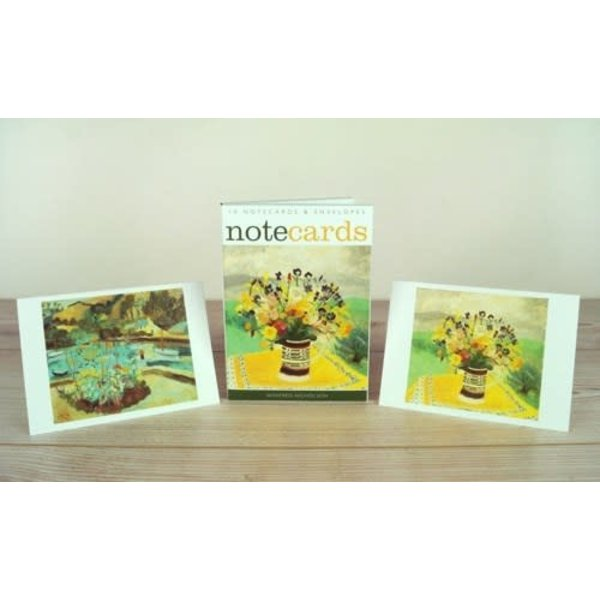 10 Cumberland Flowers & Summer note cards by Winifred Nicholson