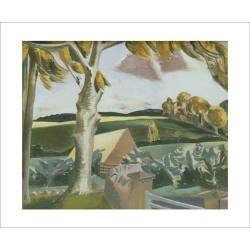Art Angels Cumberland Landscape. Card by Paul Nash