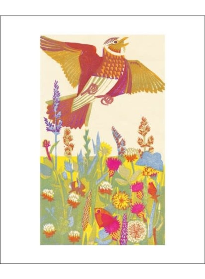 Lark Ascending card by Matt Underwoood