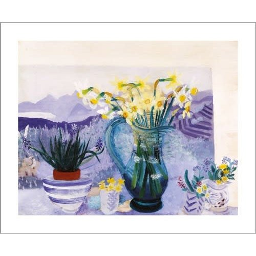Art Angels Recollections. Card by Winifred Nicholson