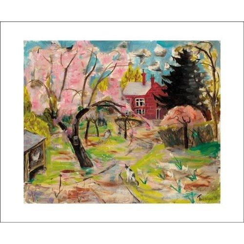 Art Angels The Cherry Tree card by Julian Trevelyan