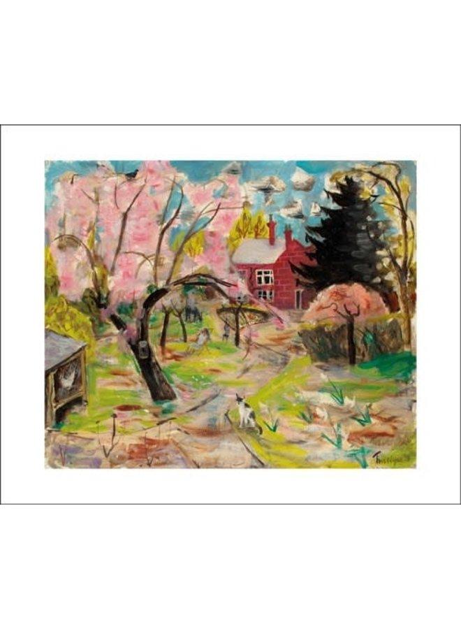 The Cherry Tree card by Julian Trevelyan