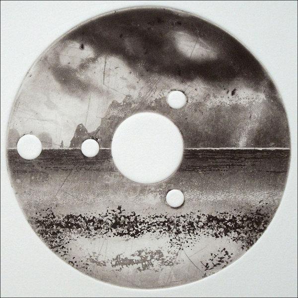 Isla inaccesible - grabado 17 enmarcado