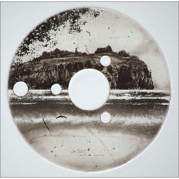 Isla Stoltenhoff - grabado 16 enmarcado