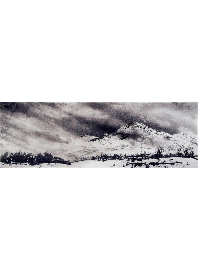 Váimooaivi - etching  20 framed