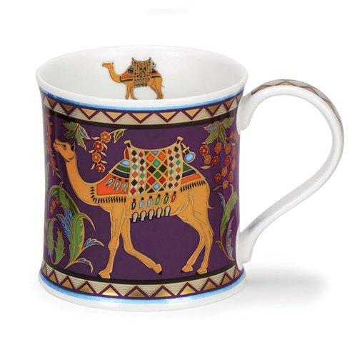 Dunoon Ceramics Arabia Camel mug by David Broadhurst 54