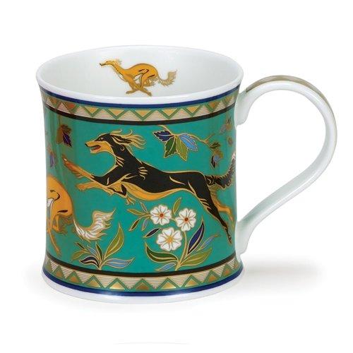 Dunoon Ceramics Arabia Dog Becher von David Broadhurst 55