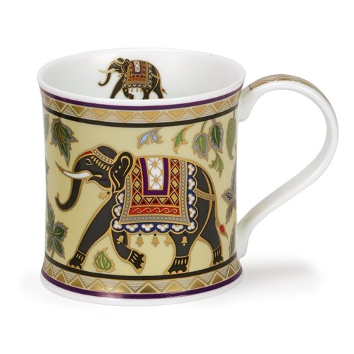 Dunoon Ceramics Taza de elefante de Arabia de David Broadhurst 56