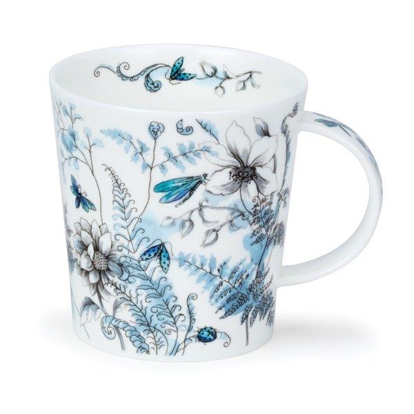 Taza azul jardín oculto de Michele Aubourg 64