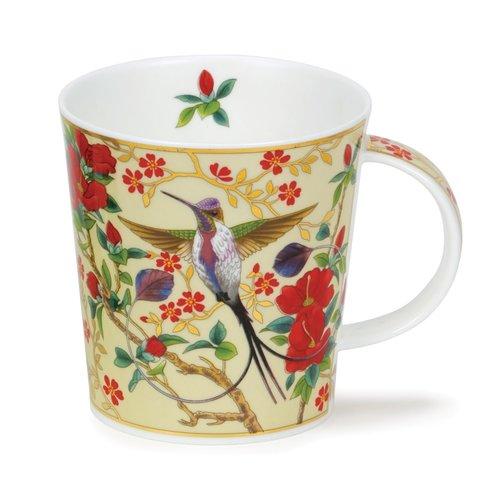 Dunoon Ceramics Aisha Cream  - Hummingbird by David Broadhurst 41
