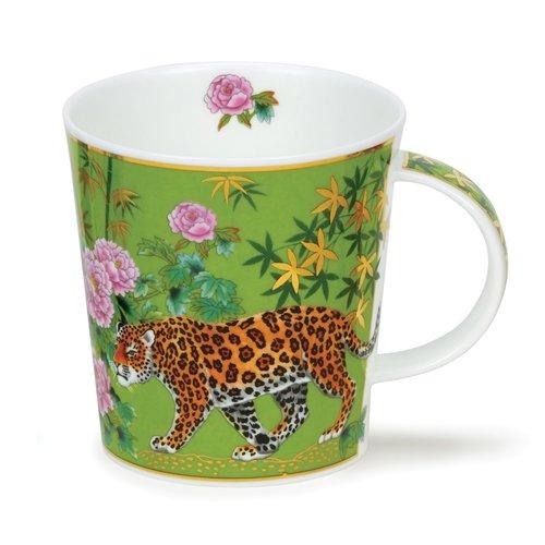 Dunoon Ceramics Aisha Green - Leopardos de David Broadhurst 42