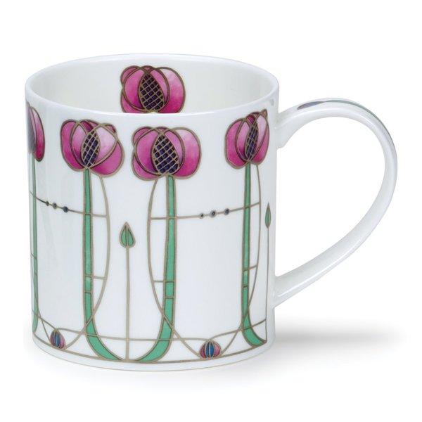 Taza Mackintosh rosa Art Nouveau 52