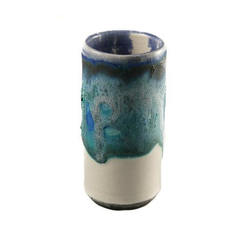 Anja  Stoneware Windowsill pod vase 01