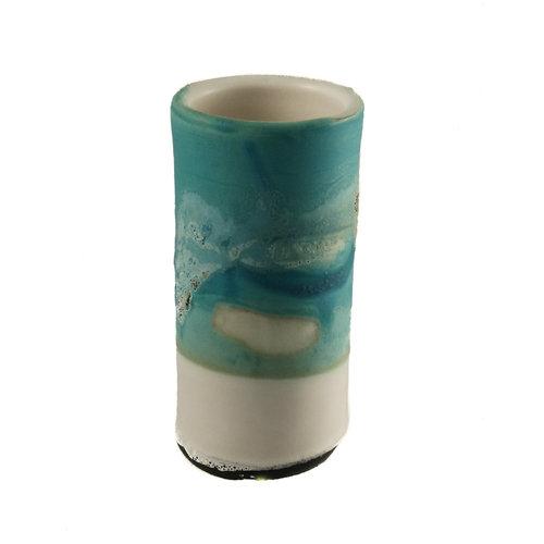 Anja  Stoneware Windowsill pod vase 03