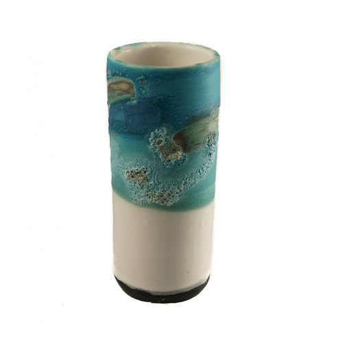 Anja  Stoneware Windowsill pod vase 04