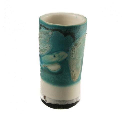 Anja  Stoneware Windowsill pod vase 06