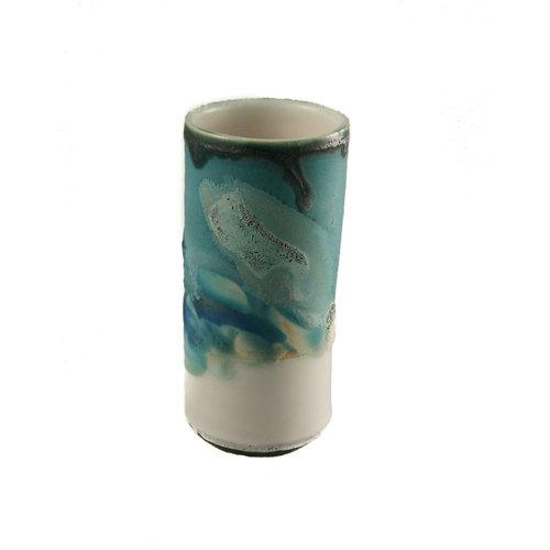 Anja  Stoneware Windowsill pod vase 07