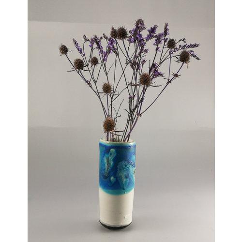 Anja  Stoneware Windowsill pod vase 08