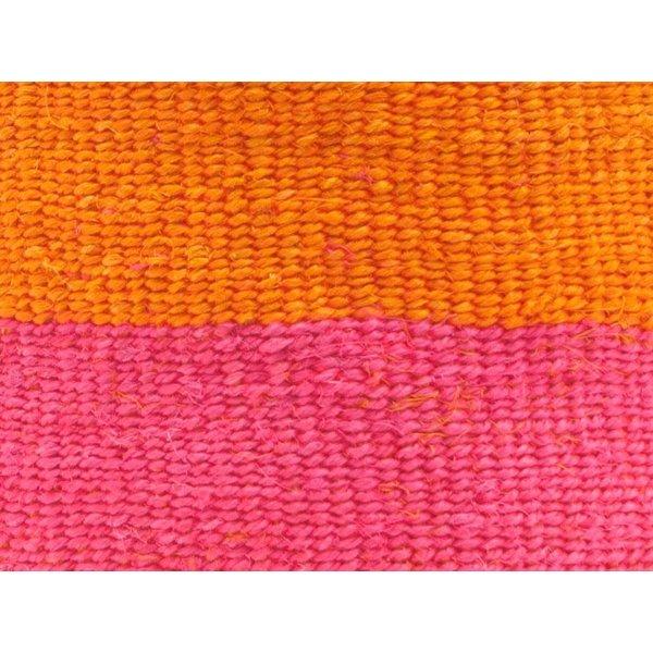 Kali Floro Orange und Pink Sisal xsmall Korb 10