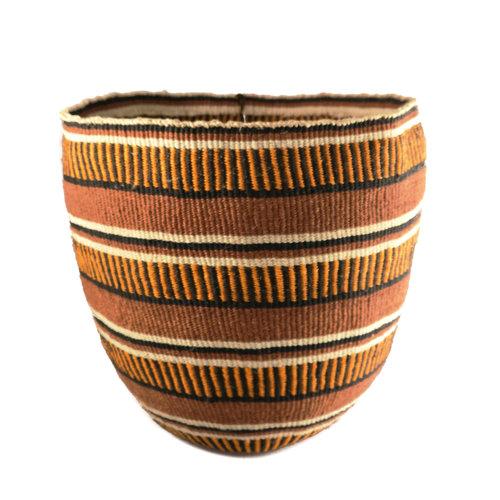 The Basket Room Tribal geometric Sisal large baskekt 23