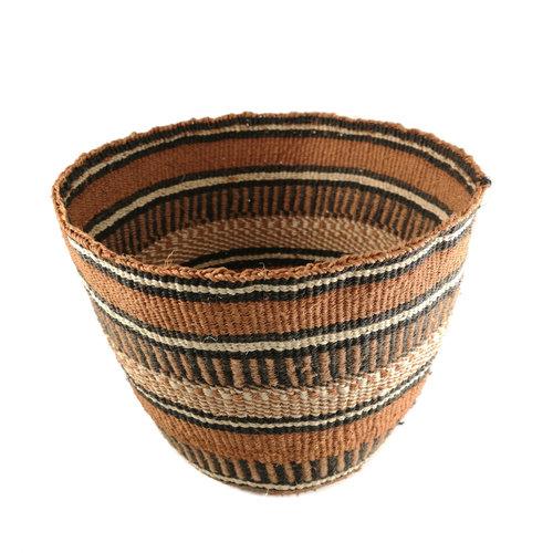 The Basket Room Tribal geometric Sisal medium  baskekt 24
