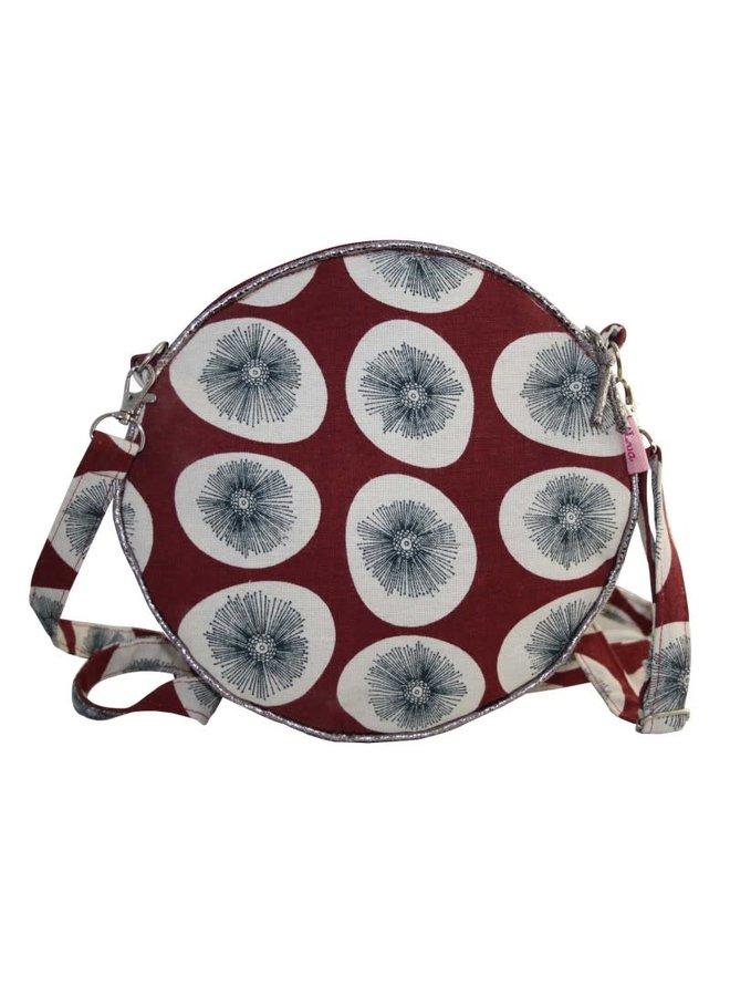 Round Messenger Bag dandelion sienna red 162