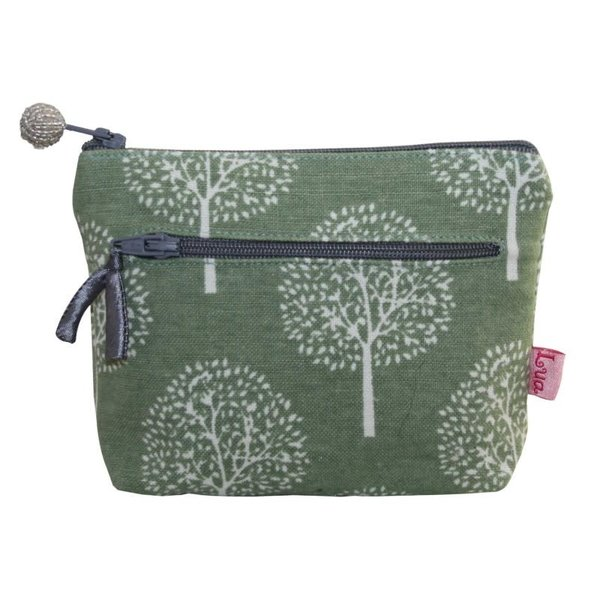 Two zip purse Mulberry Light olive 155