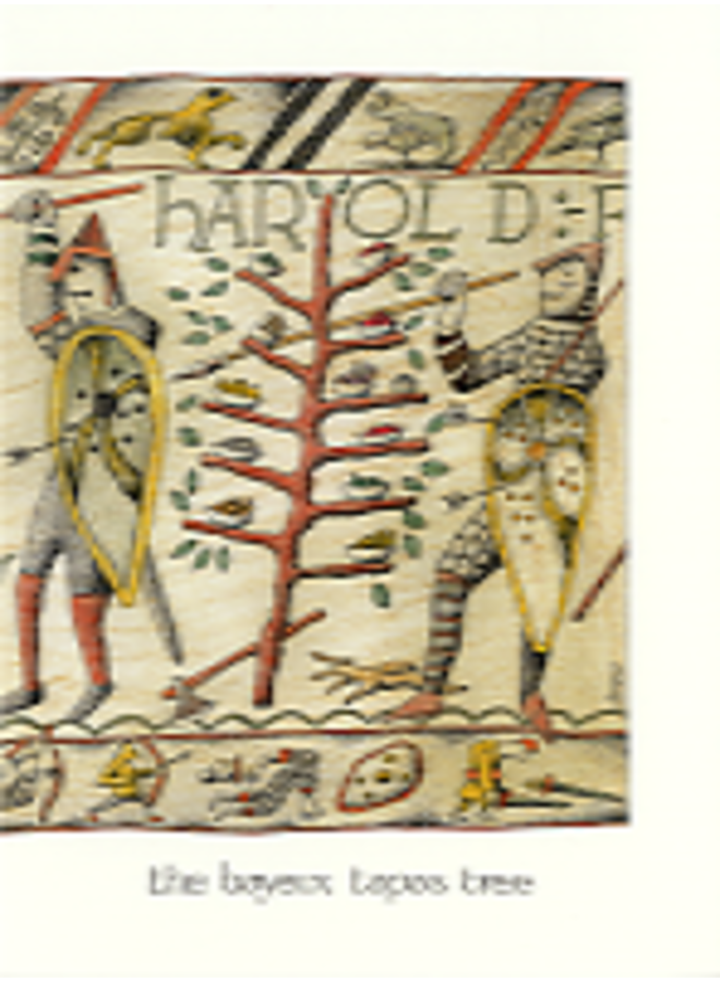 Bayeux Tapas Tree card