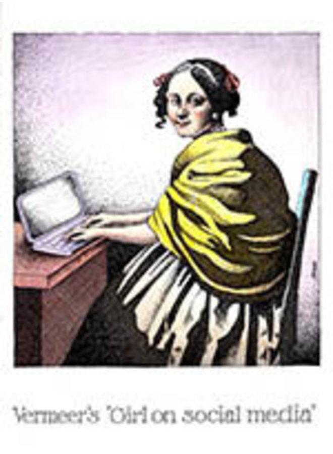 Vermeer's Girl on social media card