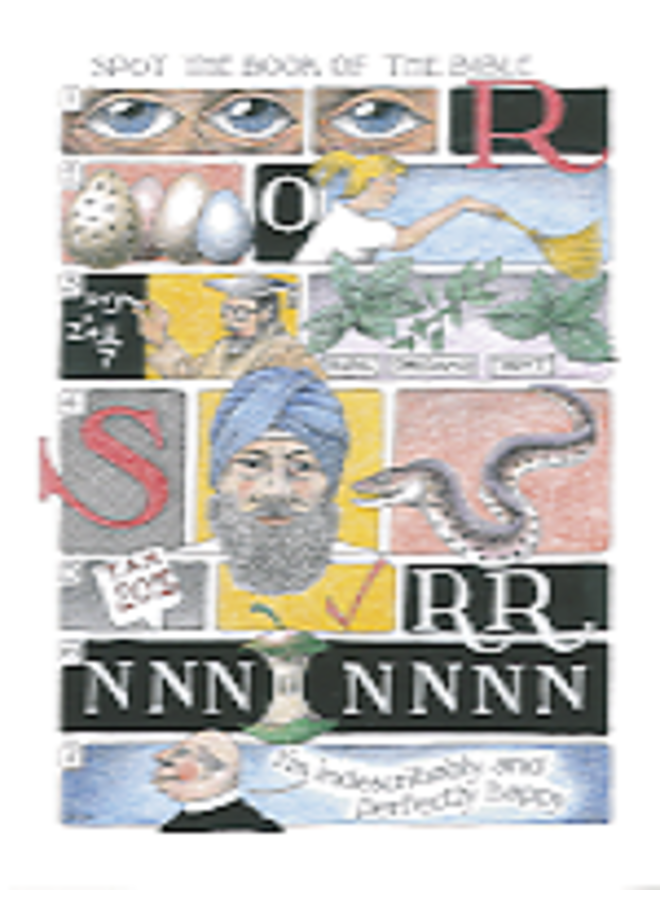 Spot Book of Bible card