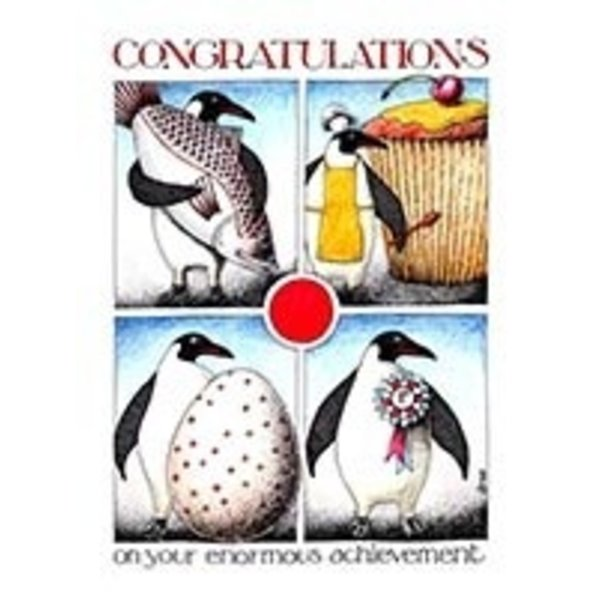 Enormous Congratulations card