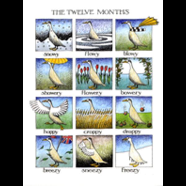 The Twelve Months card 103