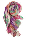 Harmony Crinckle wide Silk Scarf  Gift Boxed 104