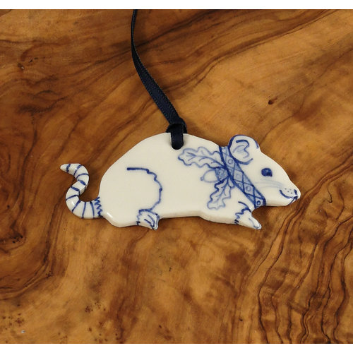 Pretender To The Throne Mouse Ceramic Decoration