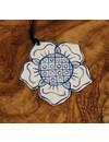 Rose Keramik Dekoration 068