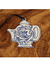 Teapot with pattern Ceramic Decoration   067