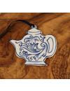 Teekanne mit Muster Keramik Ornament 067