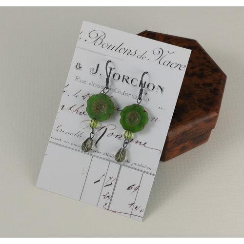 Judith Brown Bohemia moss drop earrings 16