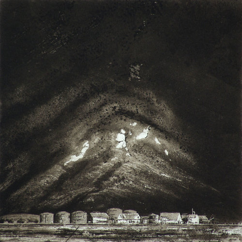 Ian Brooks Husvik  - etching 29 unframed