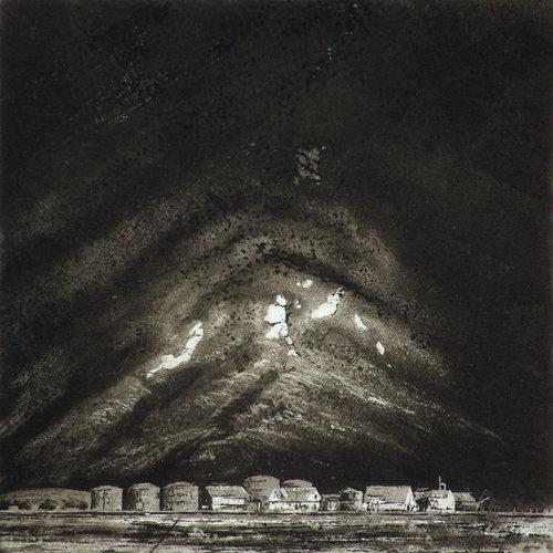 Ian Brooks Husvik - grabado 29 sin enmarcar