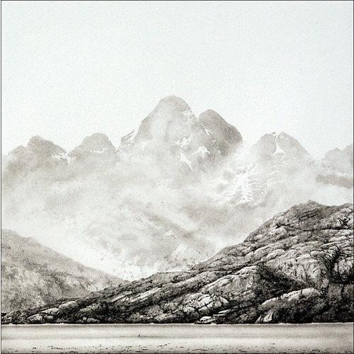 Ian Brooks Riesco Islane, Río Verde, del Estrecho de Magallanes: grabado 28 sin enmarcar