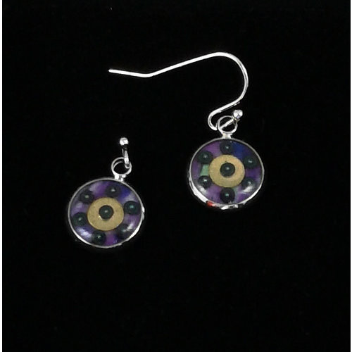 Nimanoma Corona Art round drop earrings  24